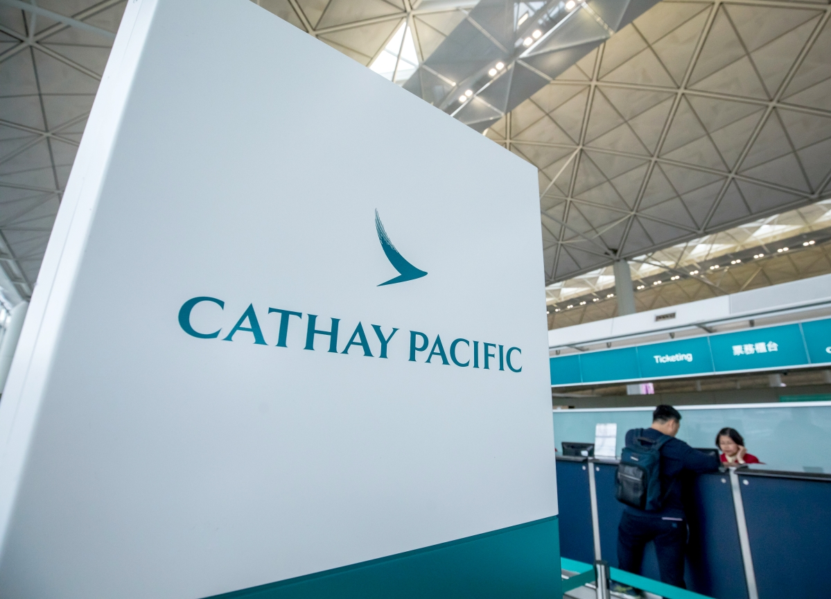 Cathay Issues Second Profit Warning in Less Than a Month