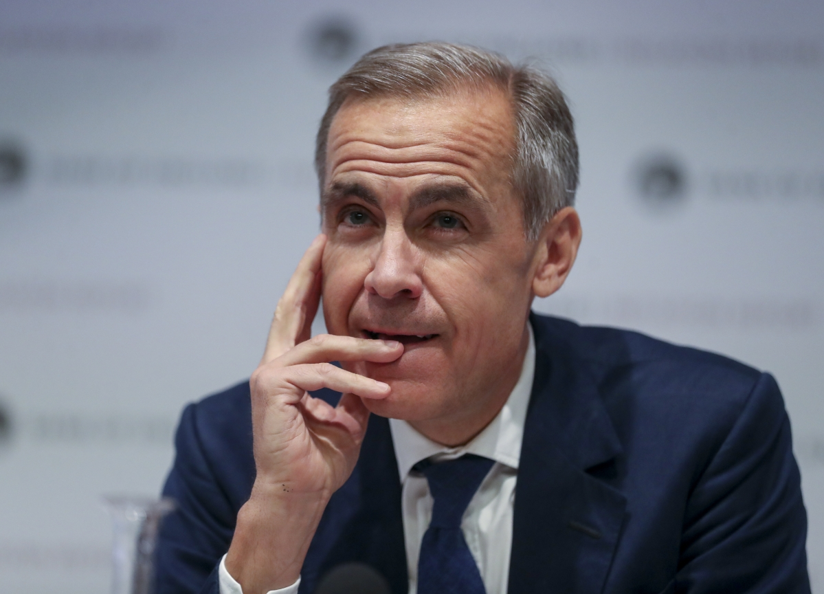 Mark Carney Says Boris Johnson Reaching Brexit Deal Is 'Good News' for U.K.
