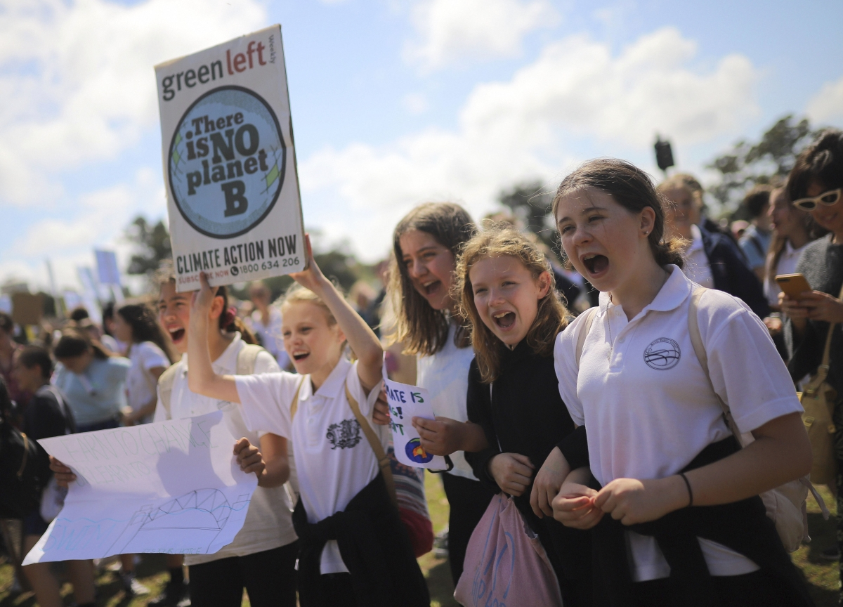 From Mumbai To New York Students Demand Change In Vast Global Climate Strike