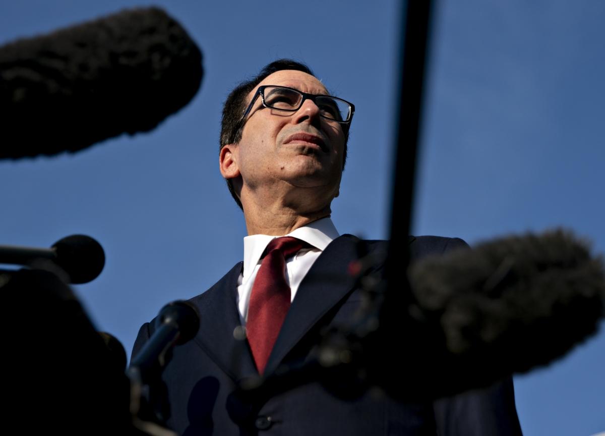 U.S., China Have 'Fundamental Agreement'on Trade, Mnuchin Says