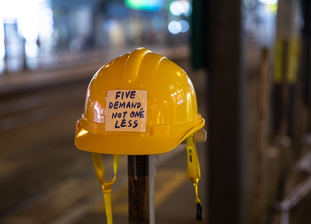 Hong Kong Crashes Into Recession as Protests Hit Economy