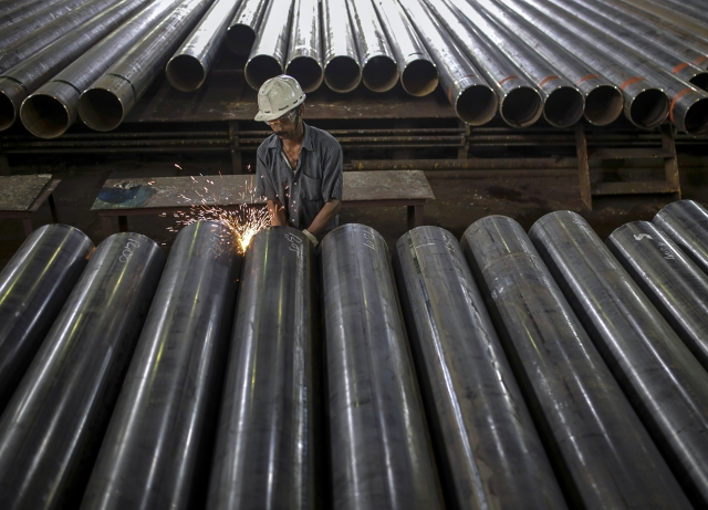 India Ratings Revises Steel Sector Outlook To 'Stable-To