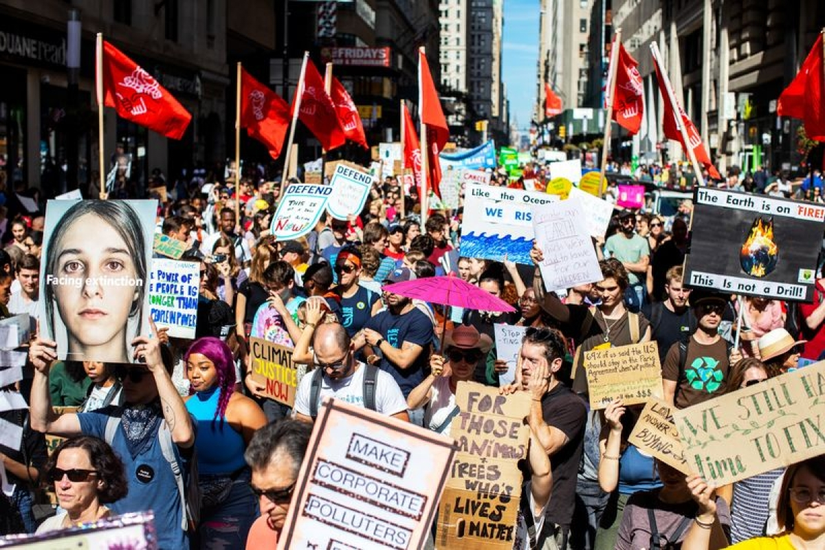 World Leaders Gather in New York as Global Climate Protests Grow