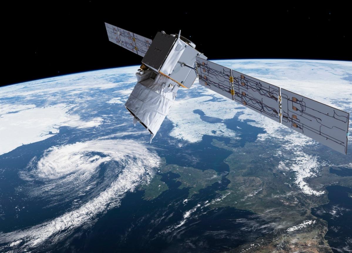European Space Agency Satellite Veers to Avoid SpaceX Collision