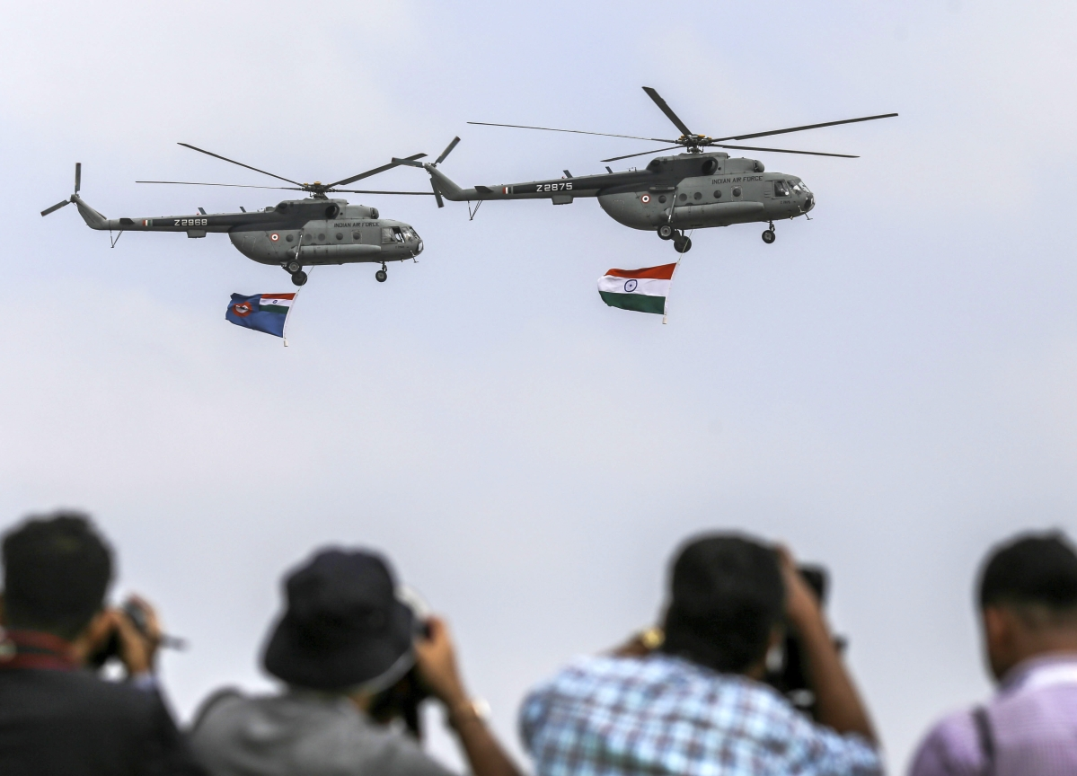 IndiaSends Up the Monetary Helicopters