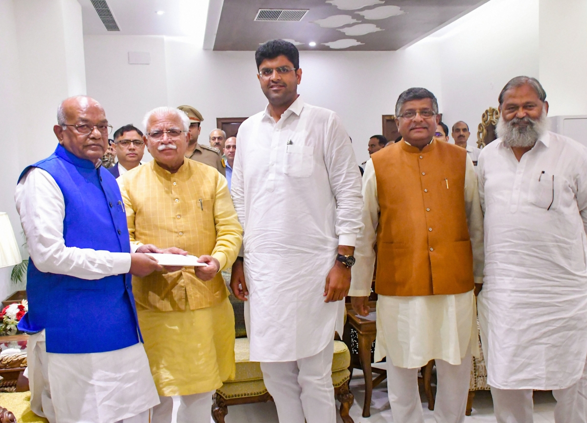 BJP Stakes Claim To Form Government In Haryana