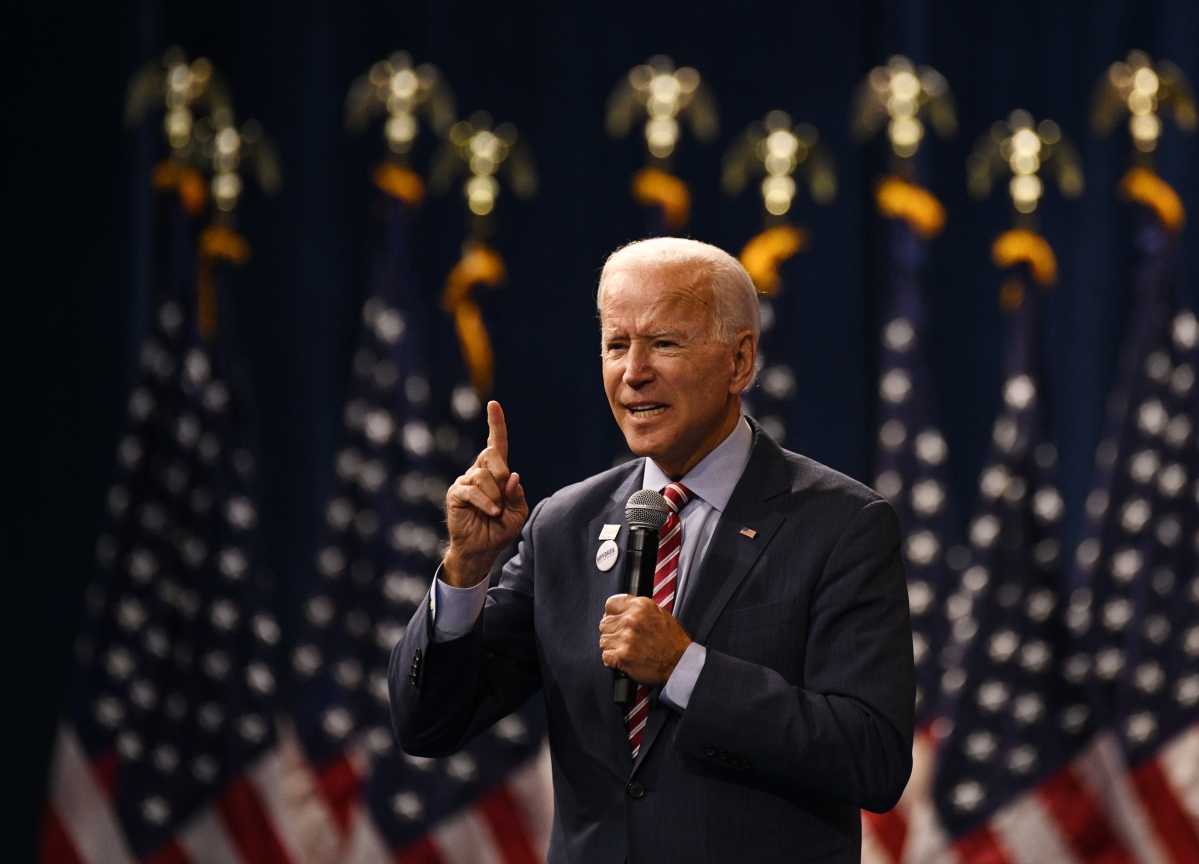 Biden Reassures Top Donors He's Ready to Battle Donald Trump