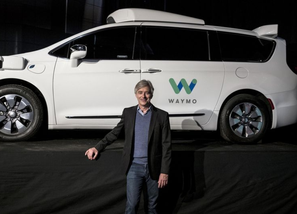 Waymo CEO Sees Driverless Trucking Catching on Faster Than Taxis
