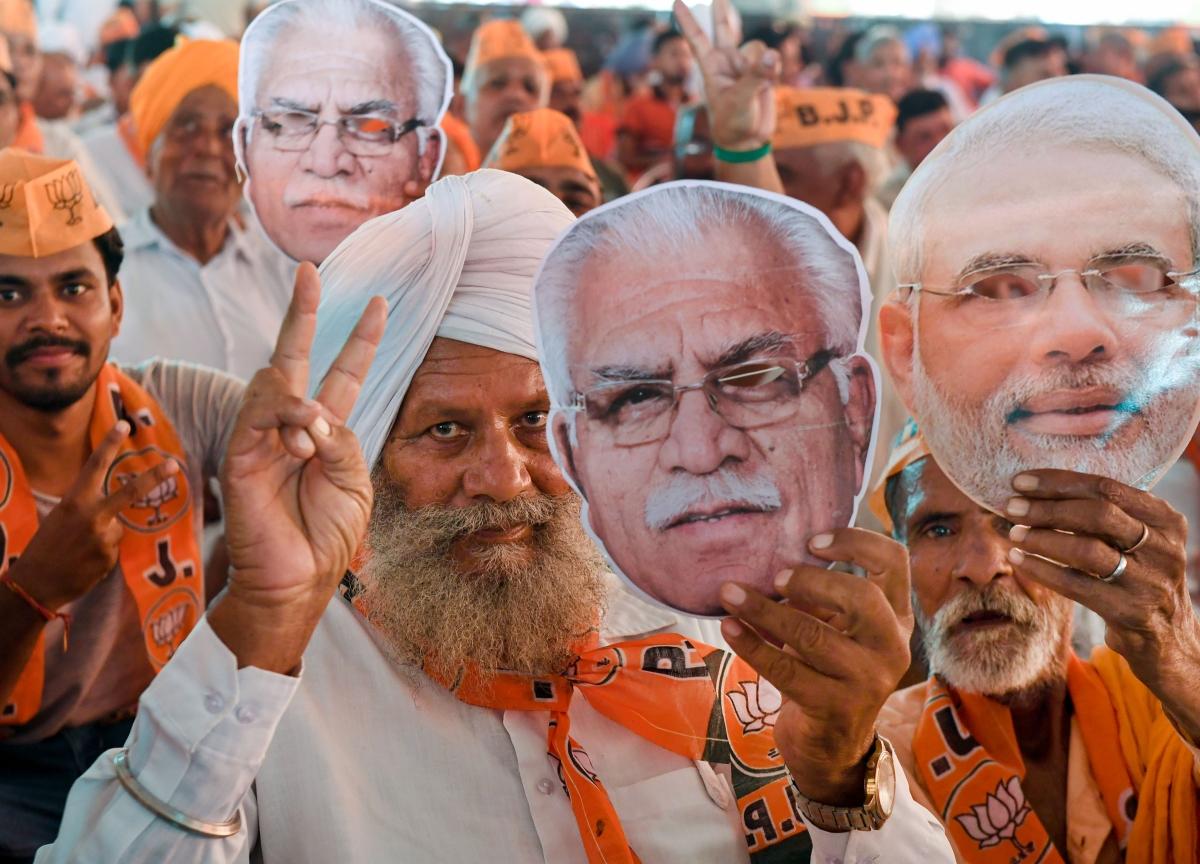 BJP Looks To Retain Power, Congress Eyes Comeback As Haryana Goes To Polls