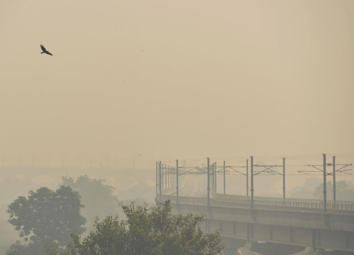 Delhi's Air Quality Drops To 'Severe' Post Diwali, Season's Worst