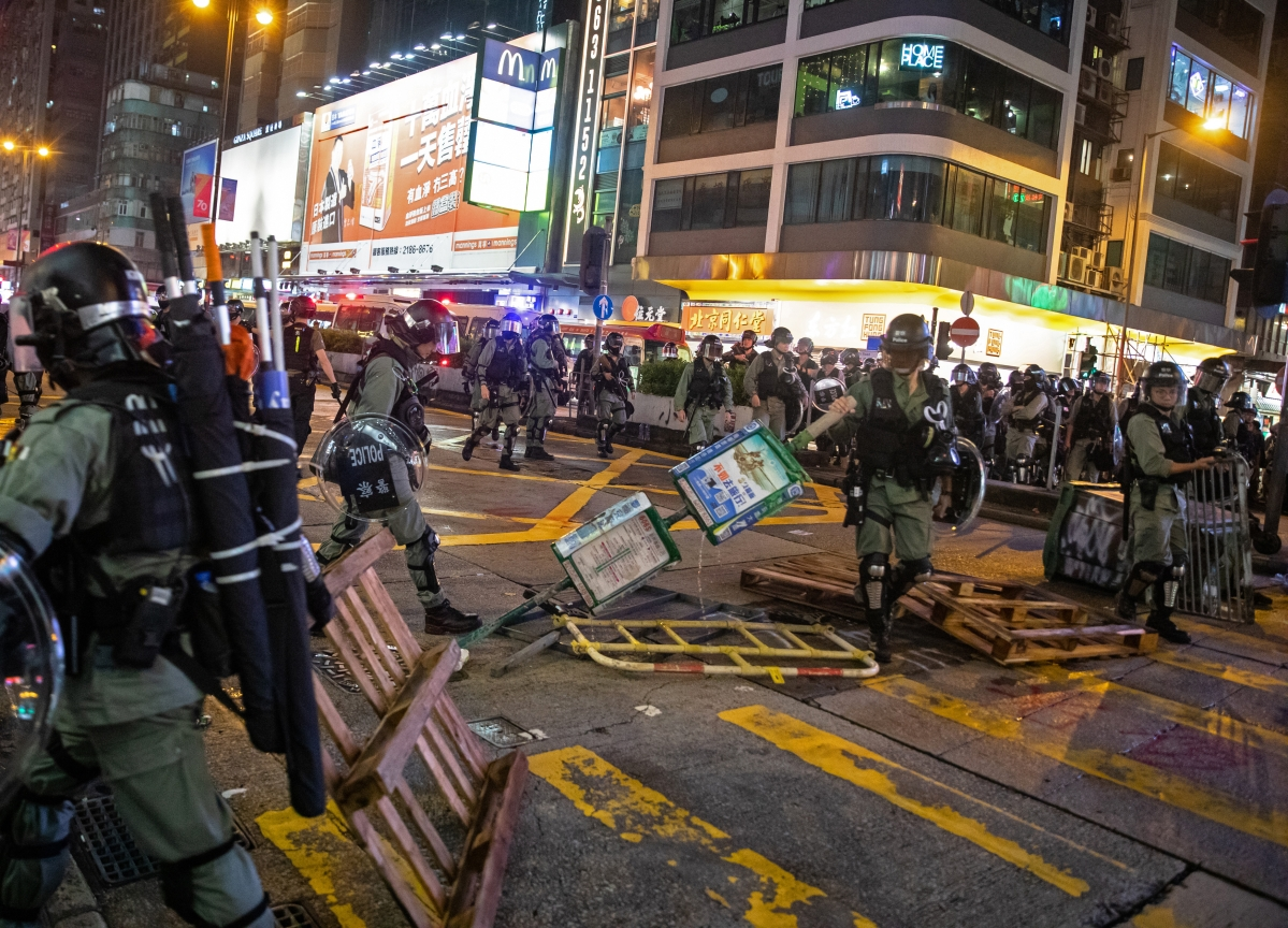 Global Markets Waking Up to Consequences of Hong Kong Protests