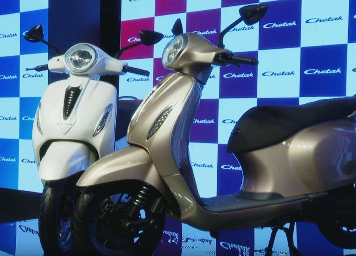 Bajaj Auto Returns To India's Scooter Market With Electric Chetak