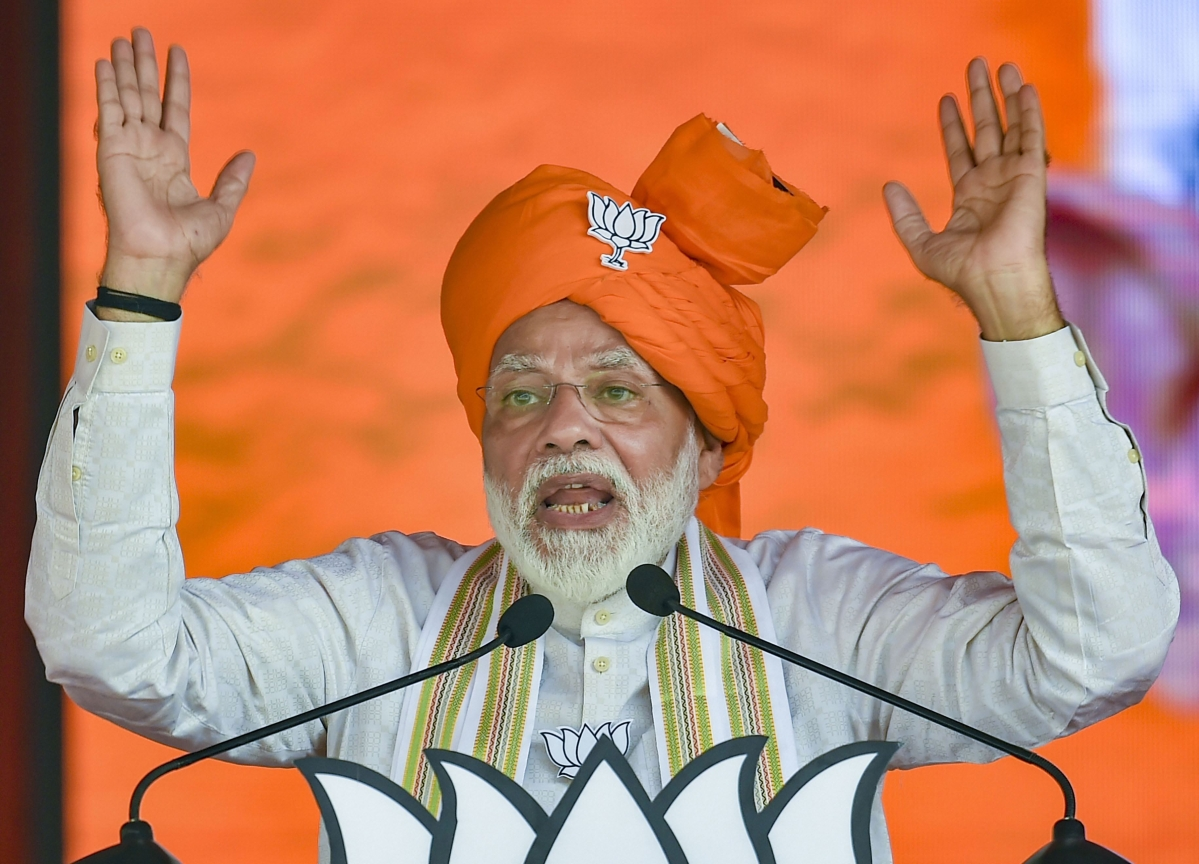 Modi Blames Congress For Inaction After Mumbai Terror Attacks