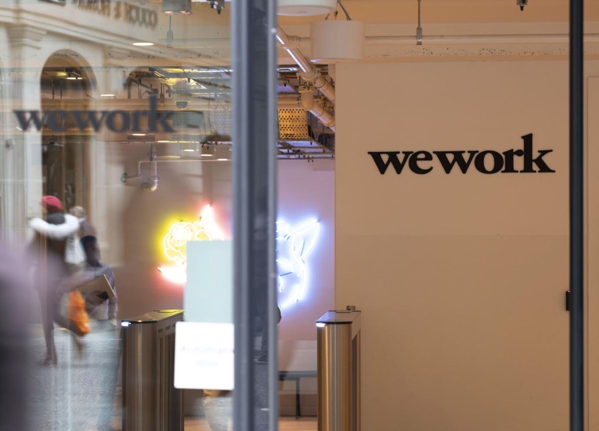JPMorgan Races to Add Rescue Financier to Its WeWork Roles