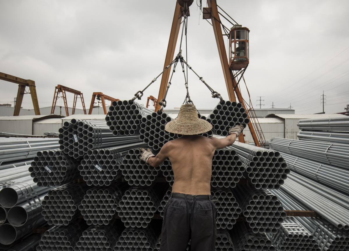 China Steelmaker Default Sparks Debt Contagion Fear