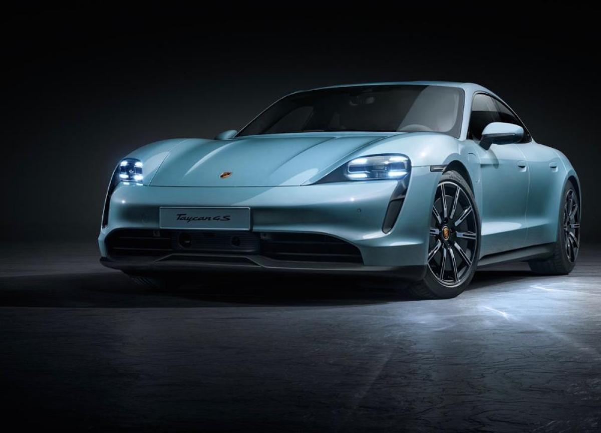Porsche Steps Up Tesla Battle With $117,000 Electric Taycan