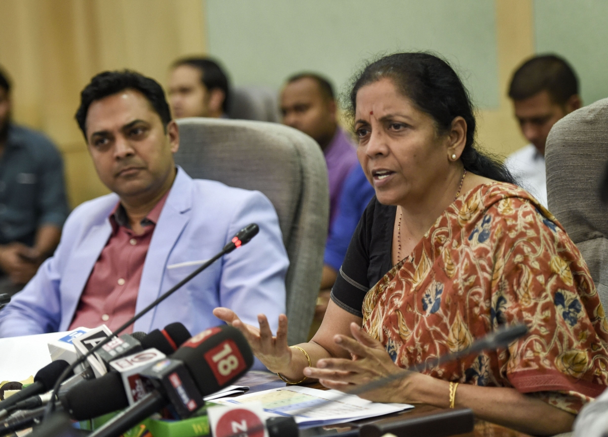 Sitharaman Promises Further GST Simplification To Help India Improve Business Ranking
