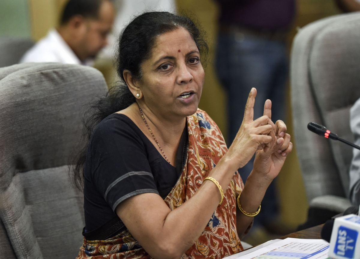'There Is No Recession, There Can Be No Recession': Nirmala Sitharaman
