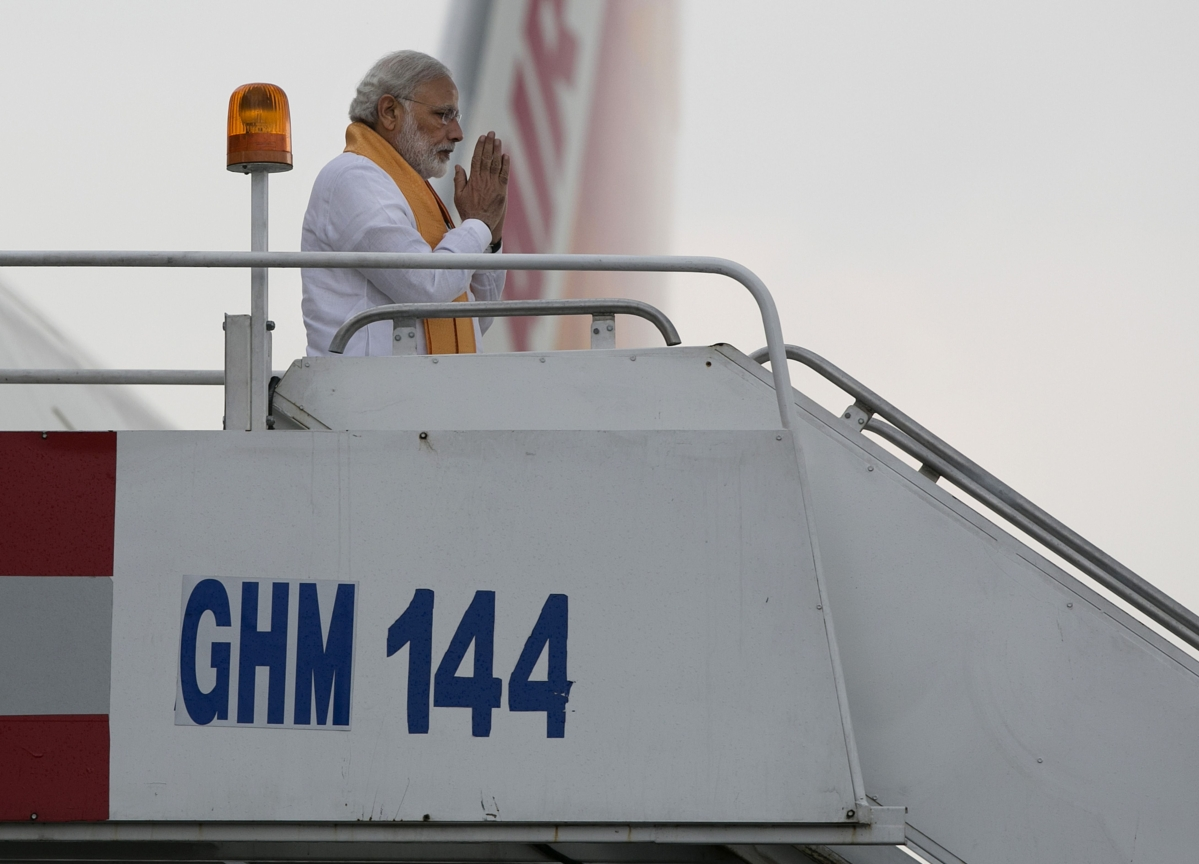 PM Modi Undertook Seven Foreign Trips To Nine Countries From August-November