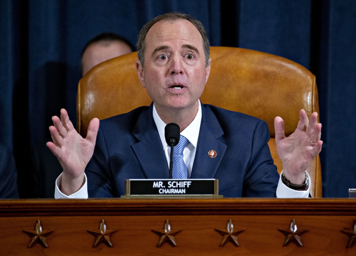 Trump Inquiry Won't End With Impeachment Report, Schiff Says