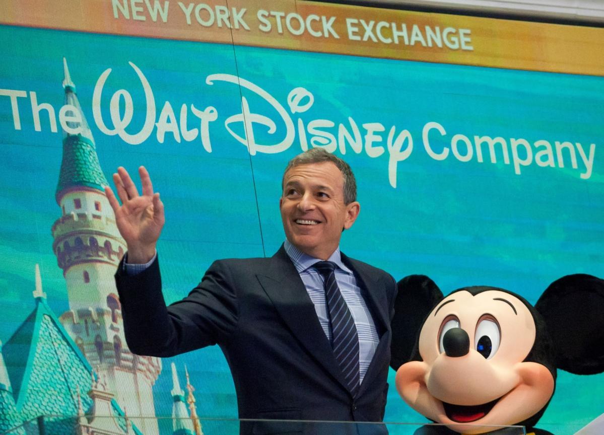 BobIger Hands Disney's Reins to Parks Chief in Surprise Succession