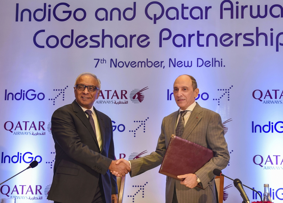 Have No Interest In Air India, Only IndiGo, Qatar Airways CEO Says