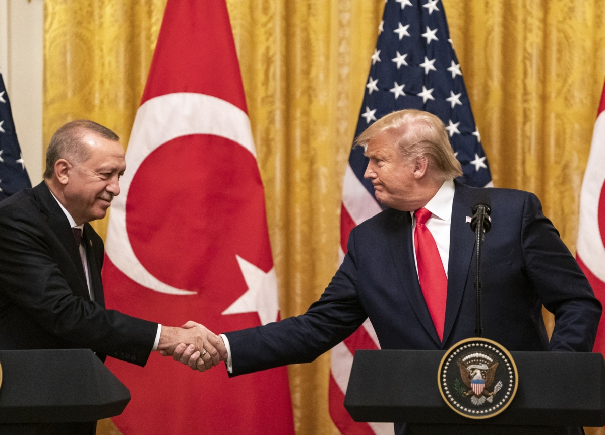 Trump Says Turkey's Plan for S-400 Raises 'Serious Challenges'