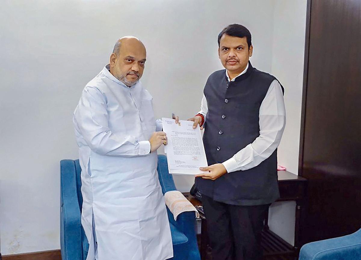 Maharashtra Politics Updates: Always Projected Fadnavis As Chief Minister, Says Amit Shah