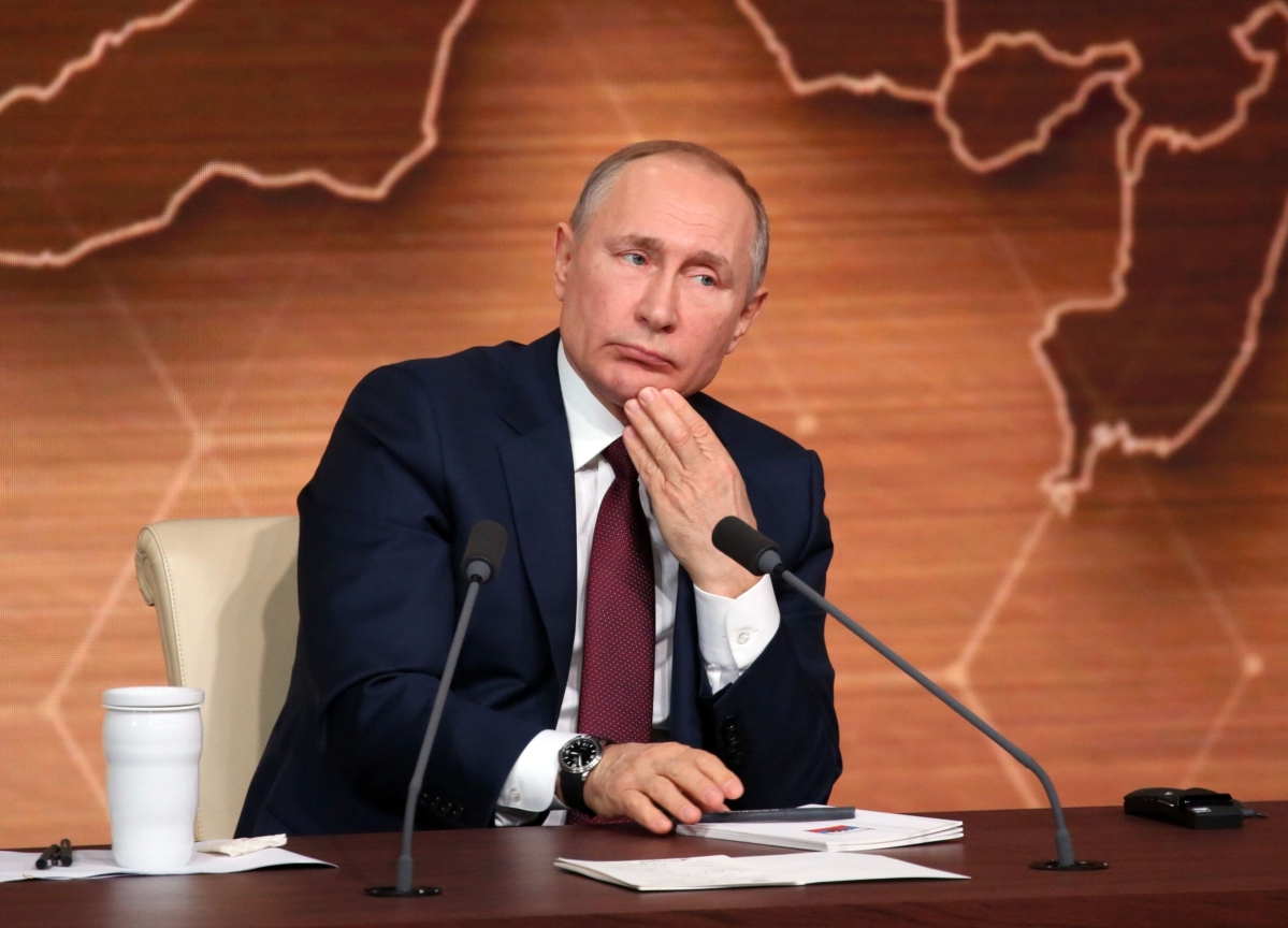 Putin Sets Path to Stay On as Russia's President to 2036