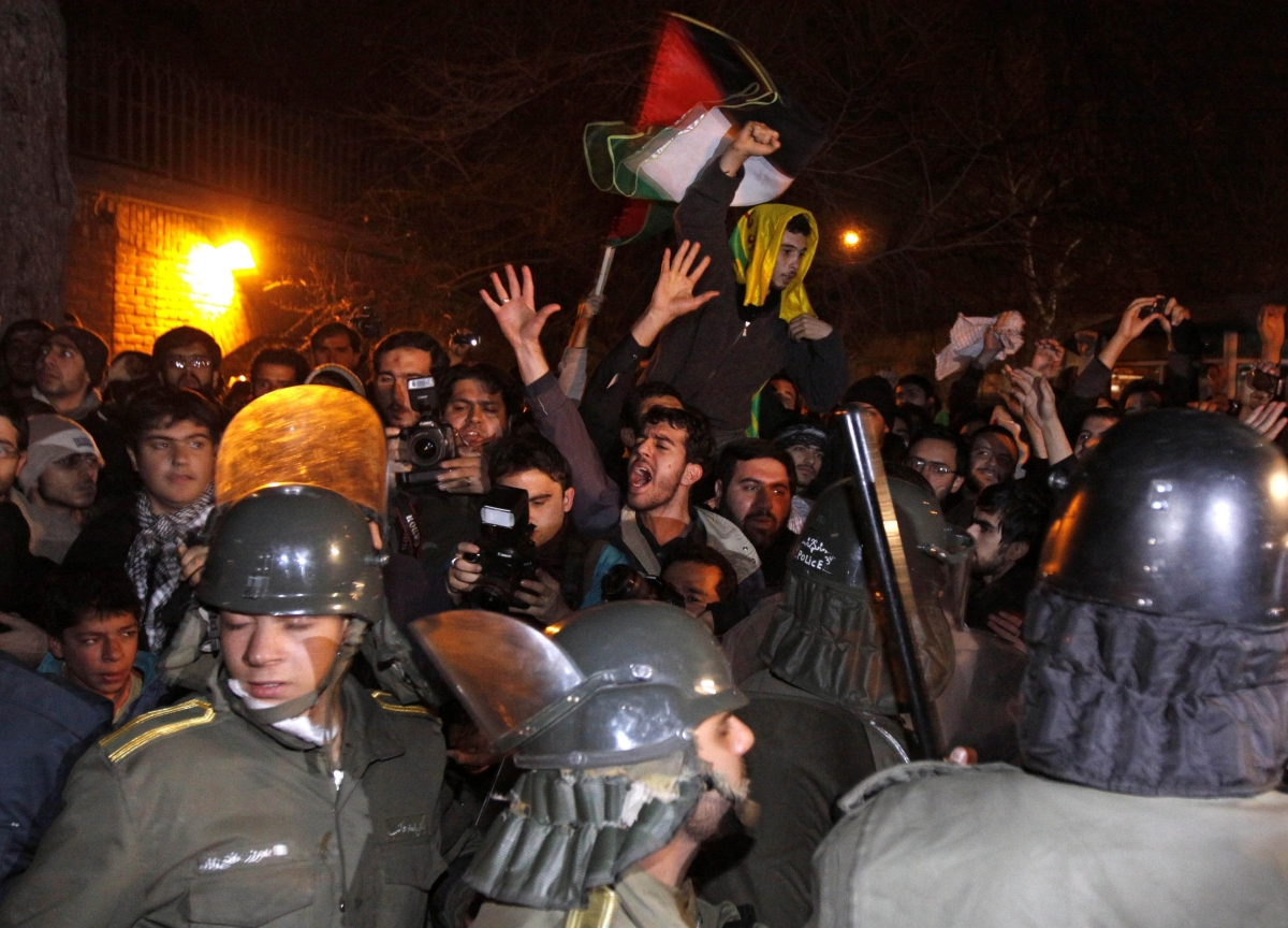 Iran for First Time Acknowledges Protesters Were Shot Dead