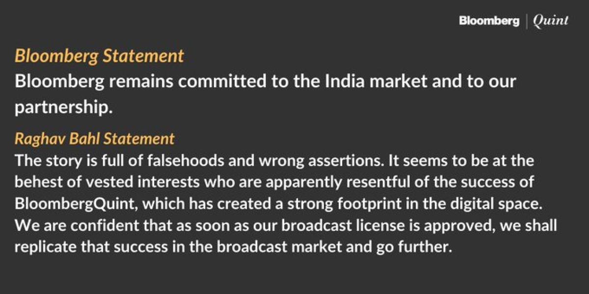 BloombergQuint Founders Remain Committed To Venture