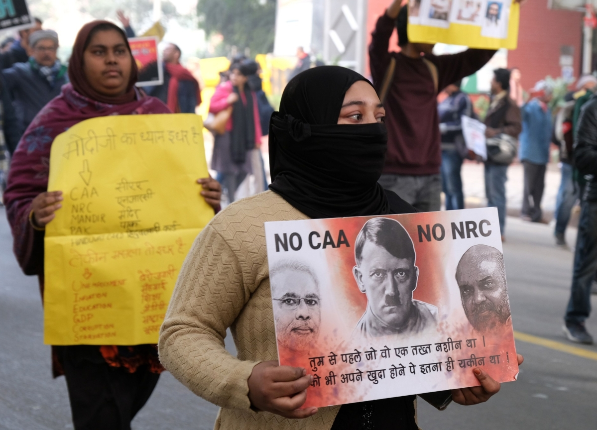 Fear Haunts Muslims at Center of India's Violent Protests