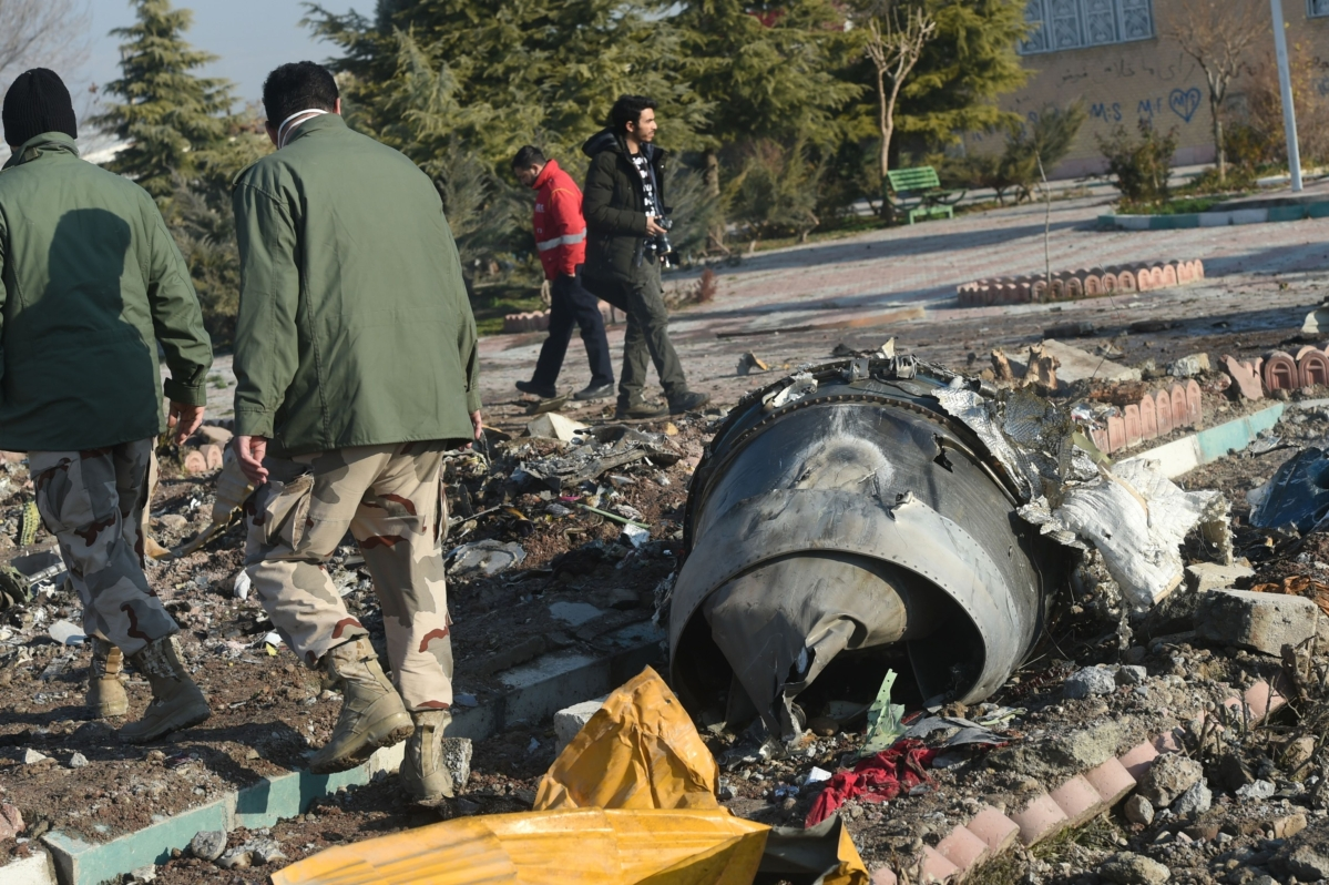 Iran Admits Downing Jetliner, Sparking Global Anger and Protests