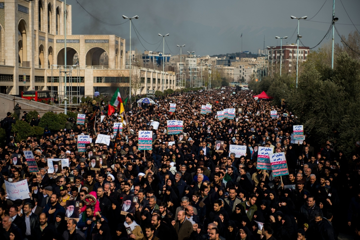 Fear Hits Tehran OverWhat Might ComeNext