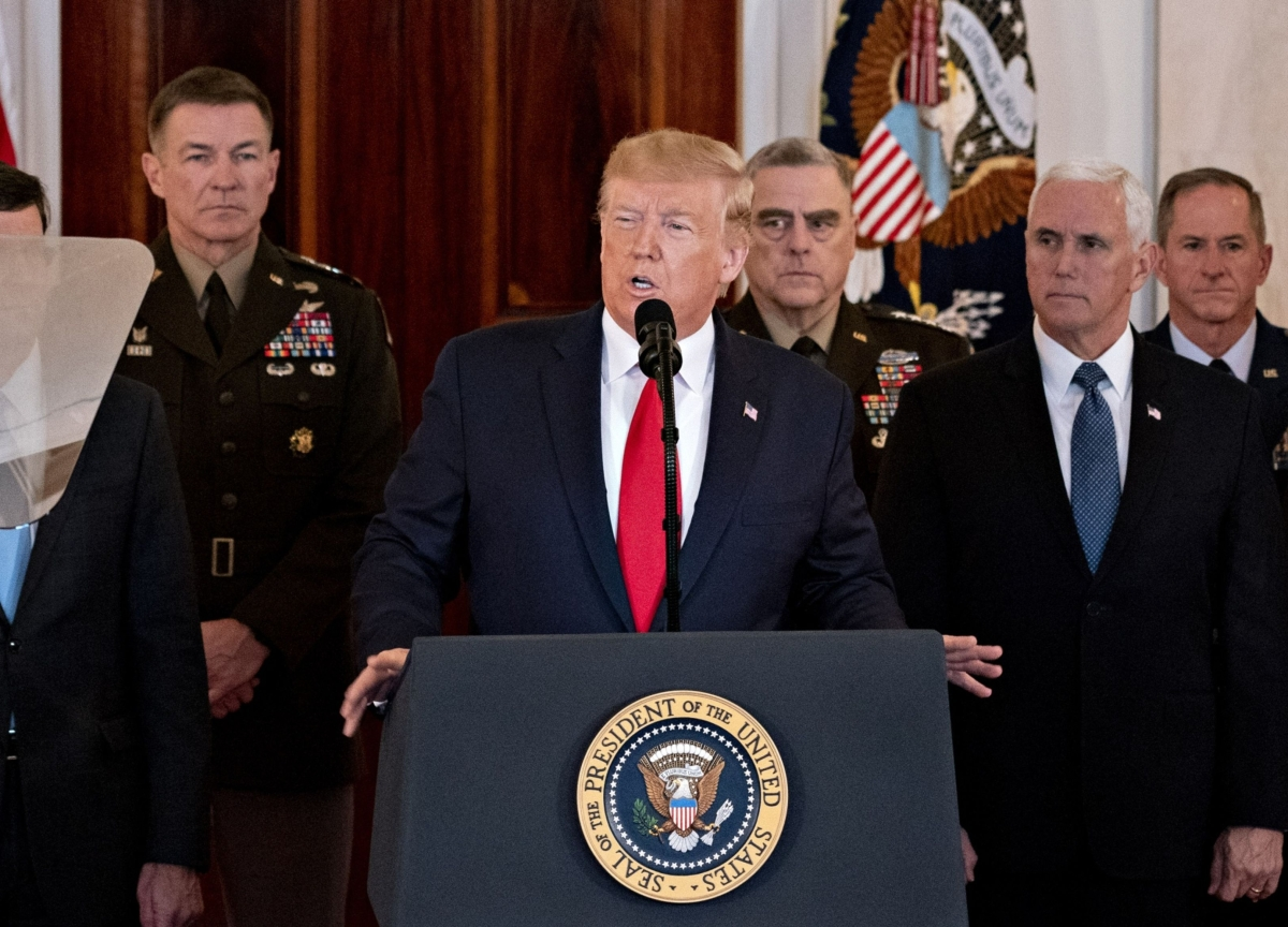 Trump's Soleimani Strike Pays Off for Now After Iran Backs Away