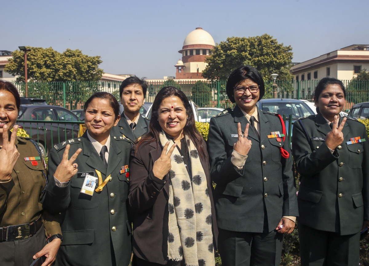 India Top Court Dumps State's Plea, Allows Women to Lead Army