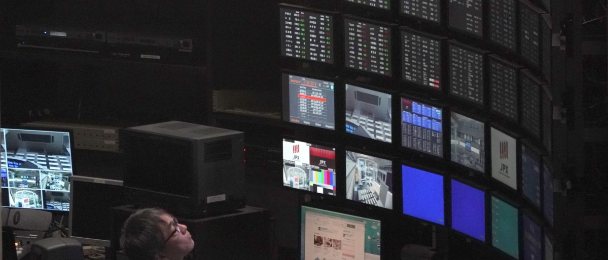 U.S. Futures Drop, Asian Stocks Mixed, Yen Slips: Markets Wrap