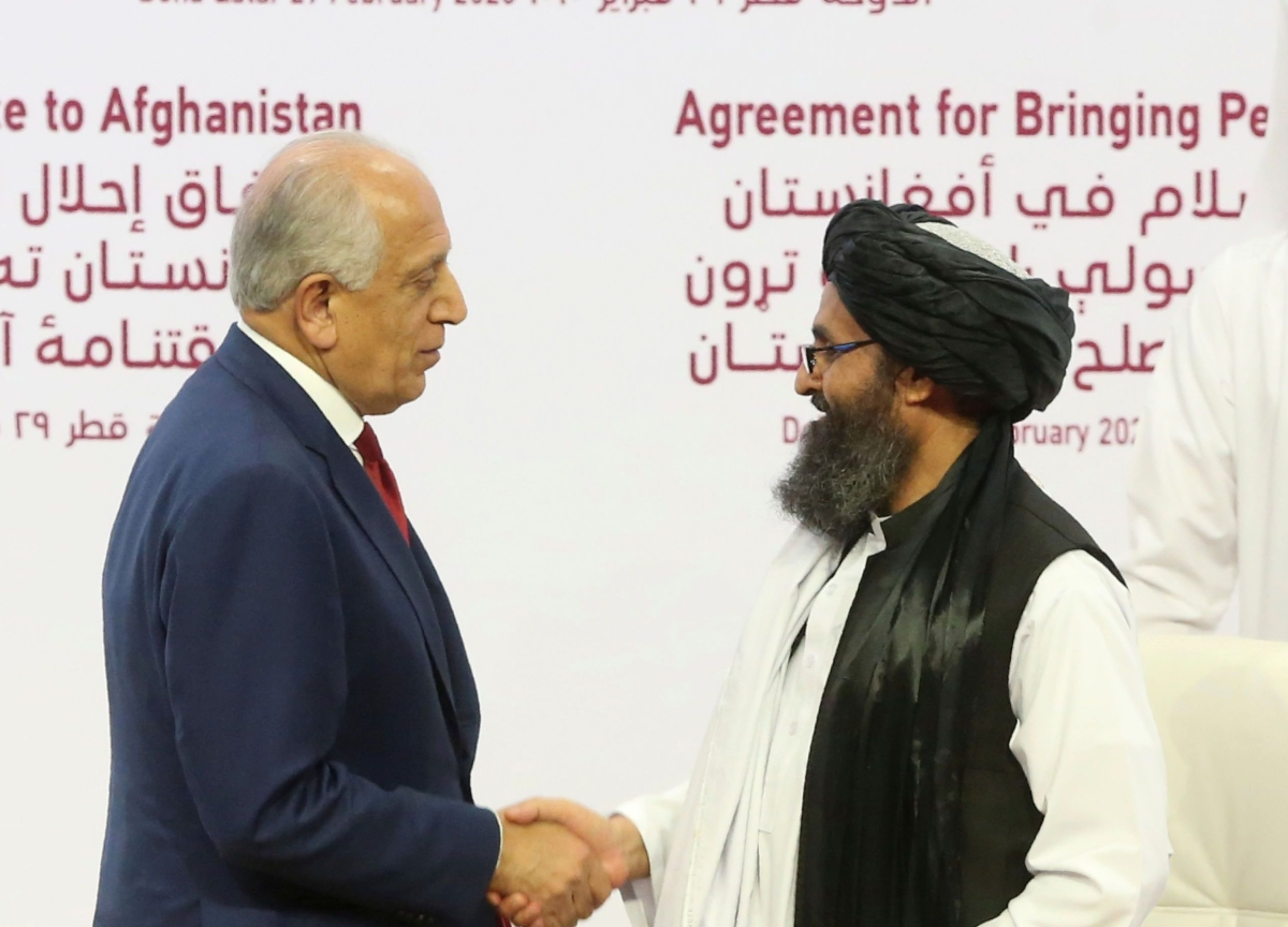 U.S., Afghan Taliban Ink Peace Deal to Wind Down 18-Year War