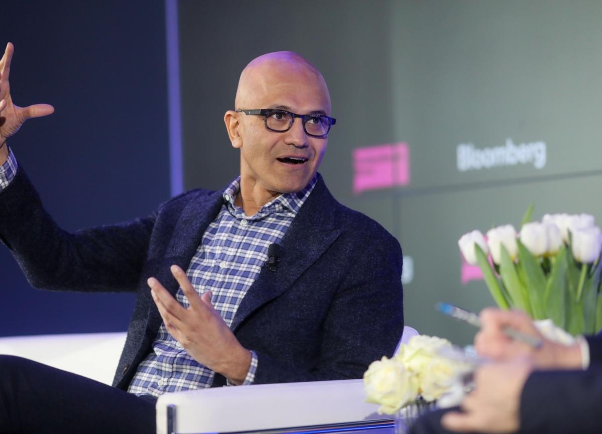Microsoft's Satya Nadella Says India Inc. Needs To Develop Its Tech Capabilities