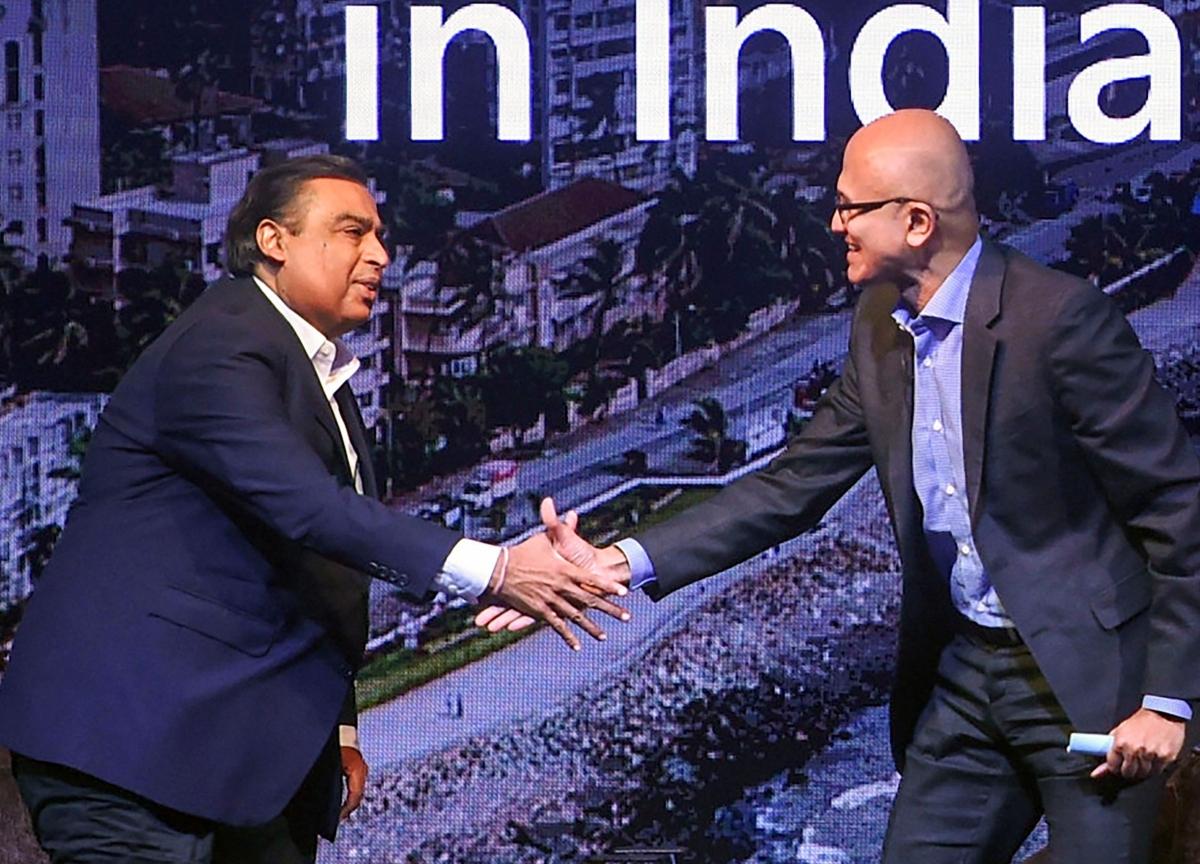 India Can Become The Premier Digital Society In The World, Mukesh Ambani Tells Satya Nadella