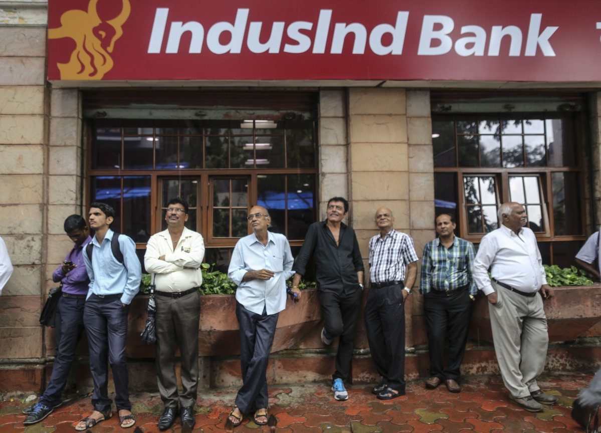 IndusInd Bank Shares Fall Most On Record As Reassurances Fail To Calm Investors