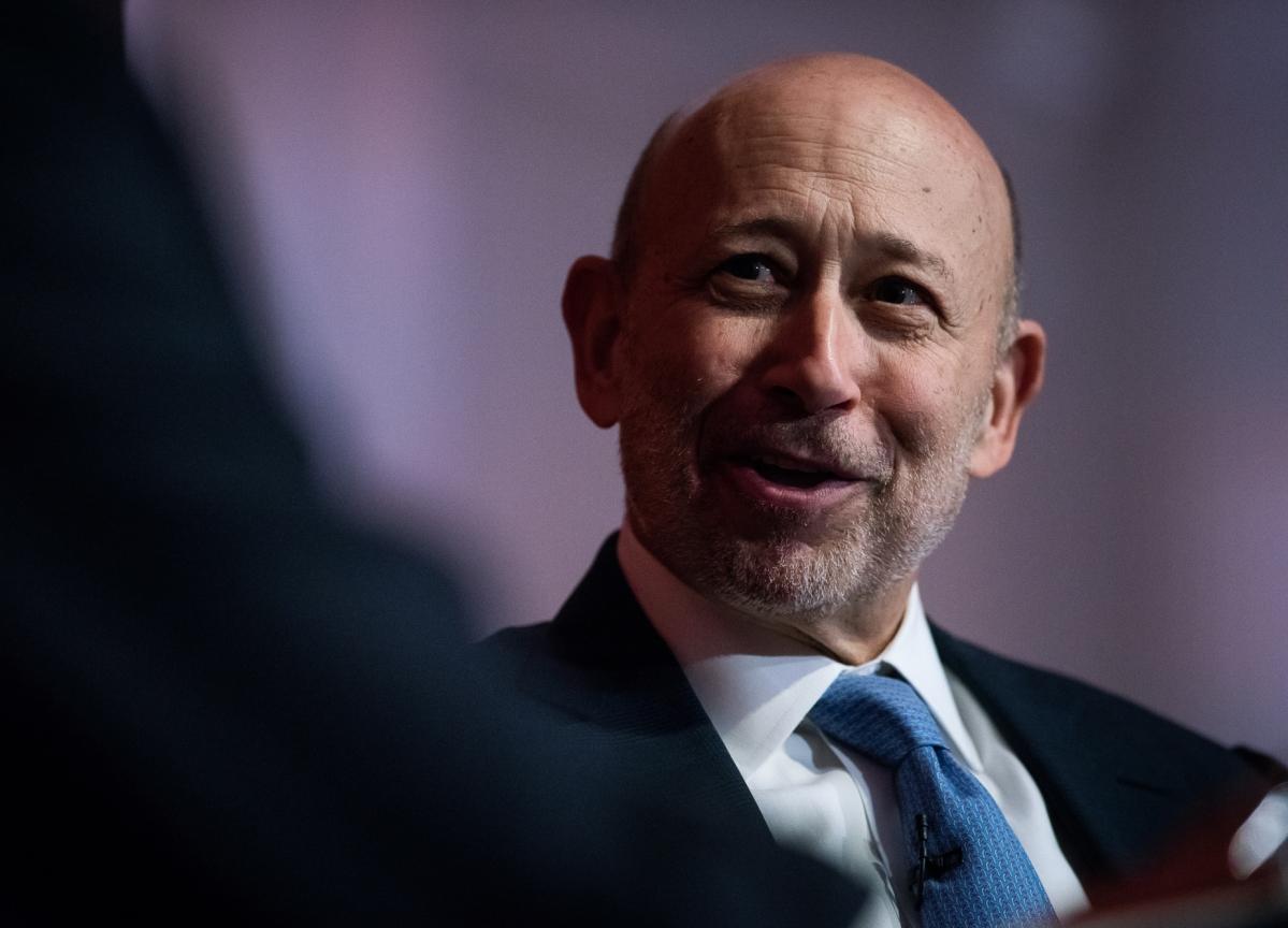 Goldman's Blankfein Says He Might Back Trump Over Sanders