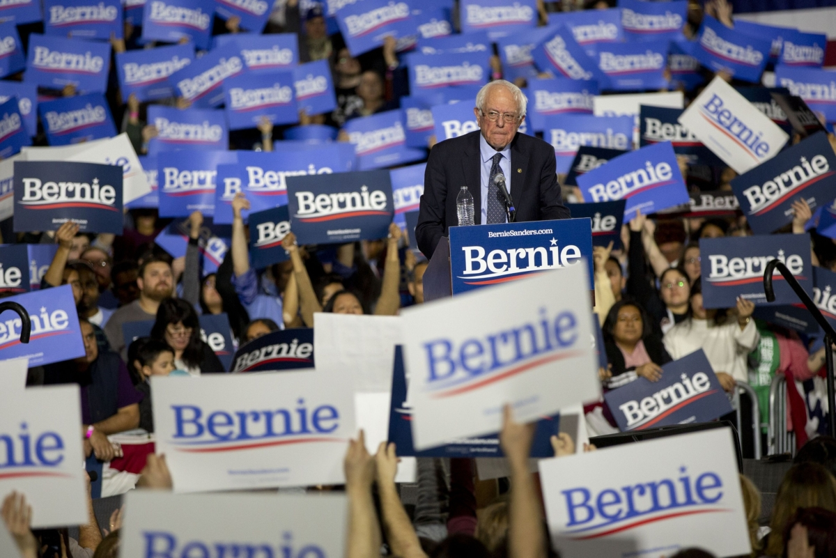 Bernie Sanders Picks Up 24 Delegates From Nevada, Establishing Lead