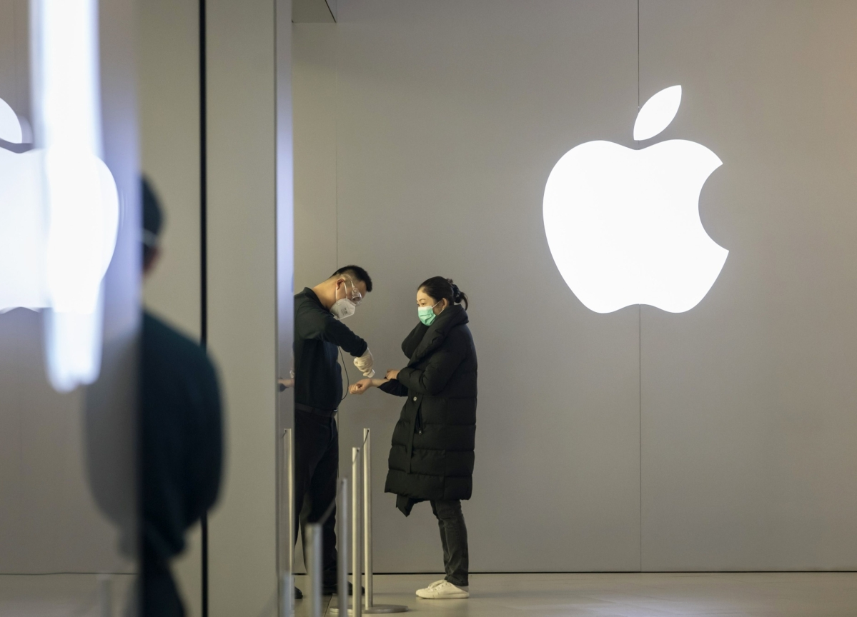 Apple's China iPhone Sales Dropped in January as Virus Emerged