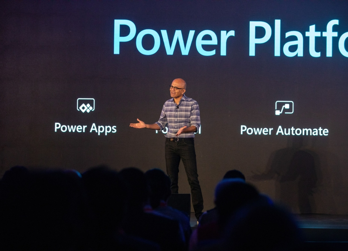 Satya Nadella Finds Indian Entrepreneurs' Ideas Exciting
