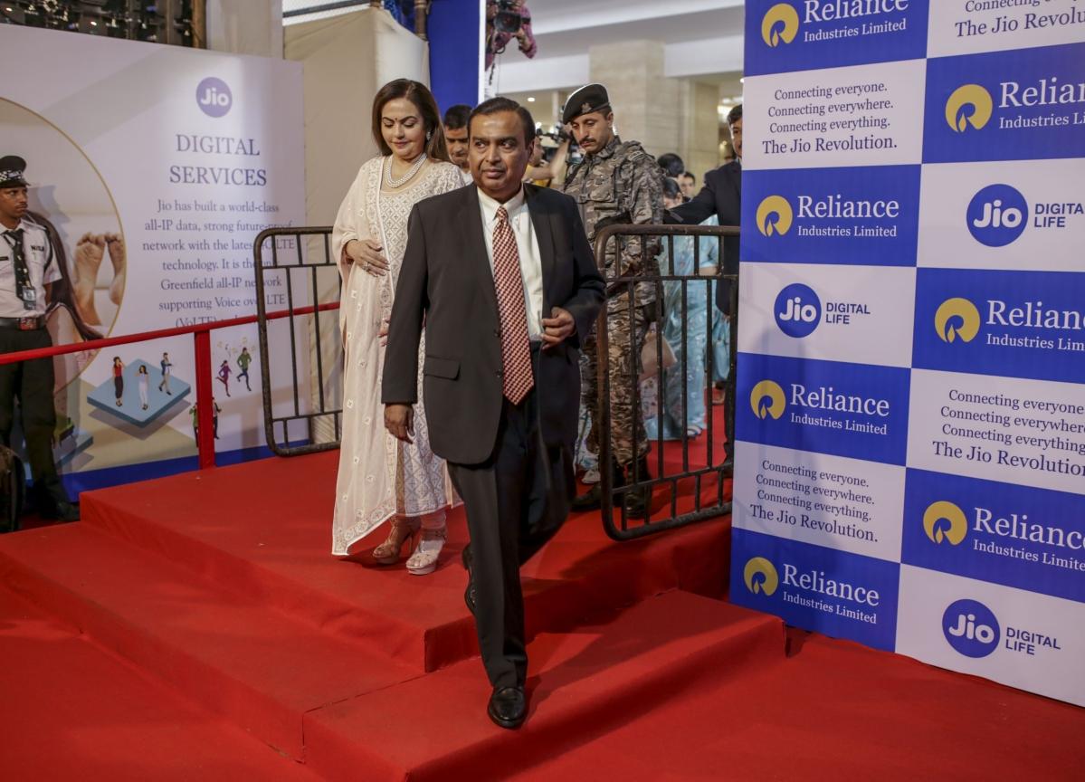 Mukesh Ambani's Reliance Industries Slides 30% From Record High