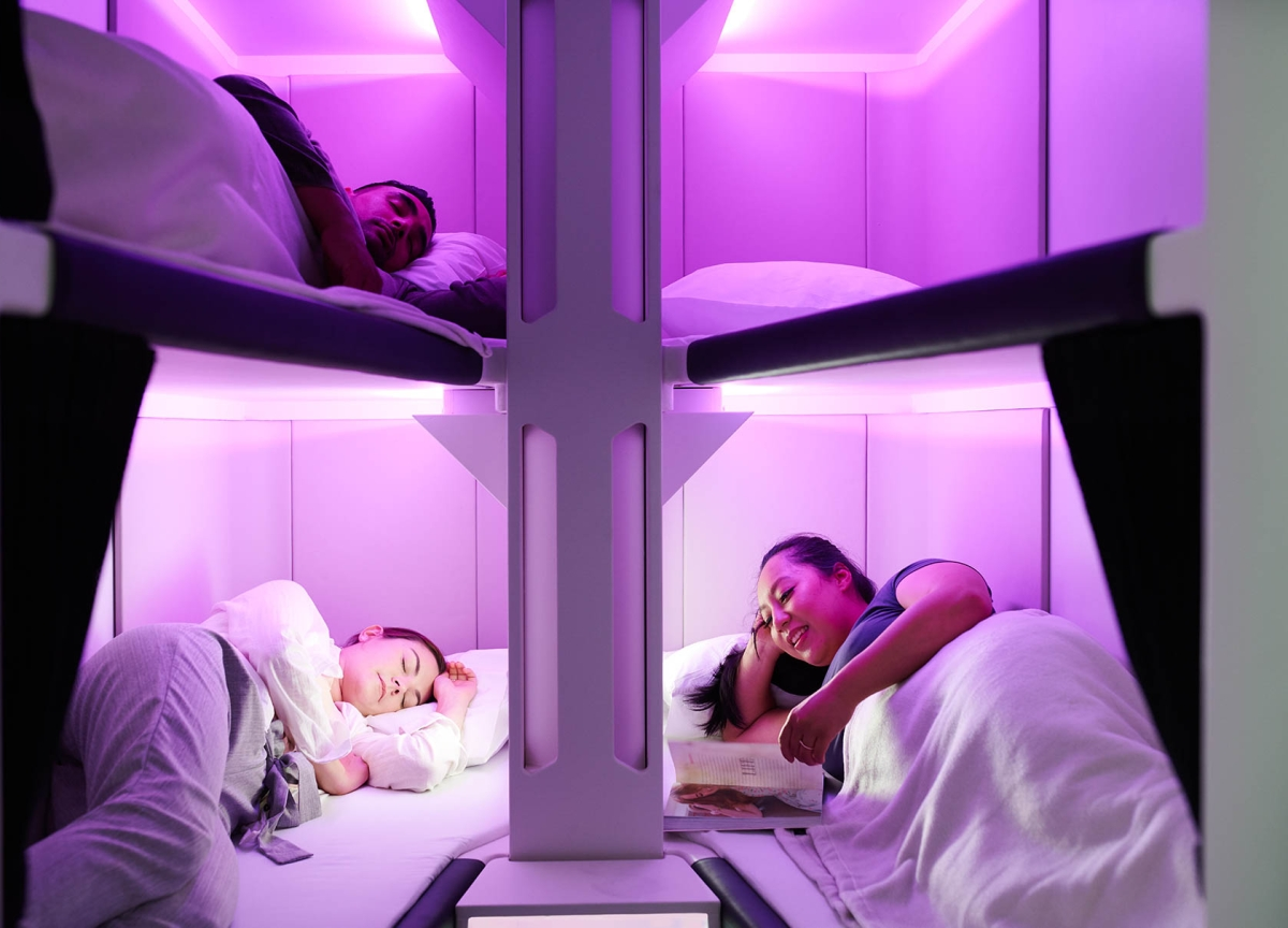 Air New Zealand Is Putting Bunk Beds in Economy Class