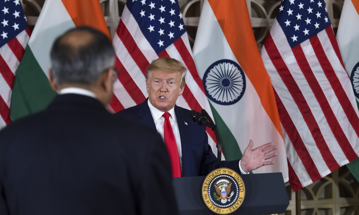 Trump Woos India Inc. To Invest More In U.S., Promises Easing Regulations
