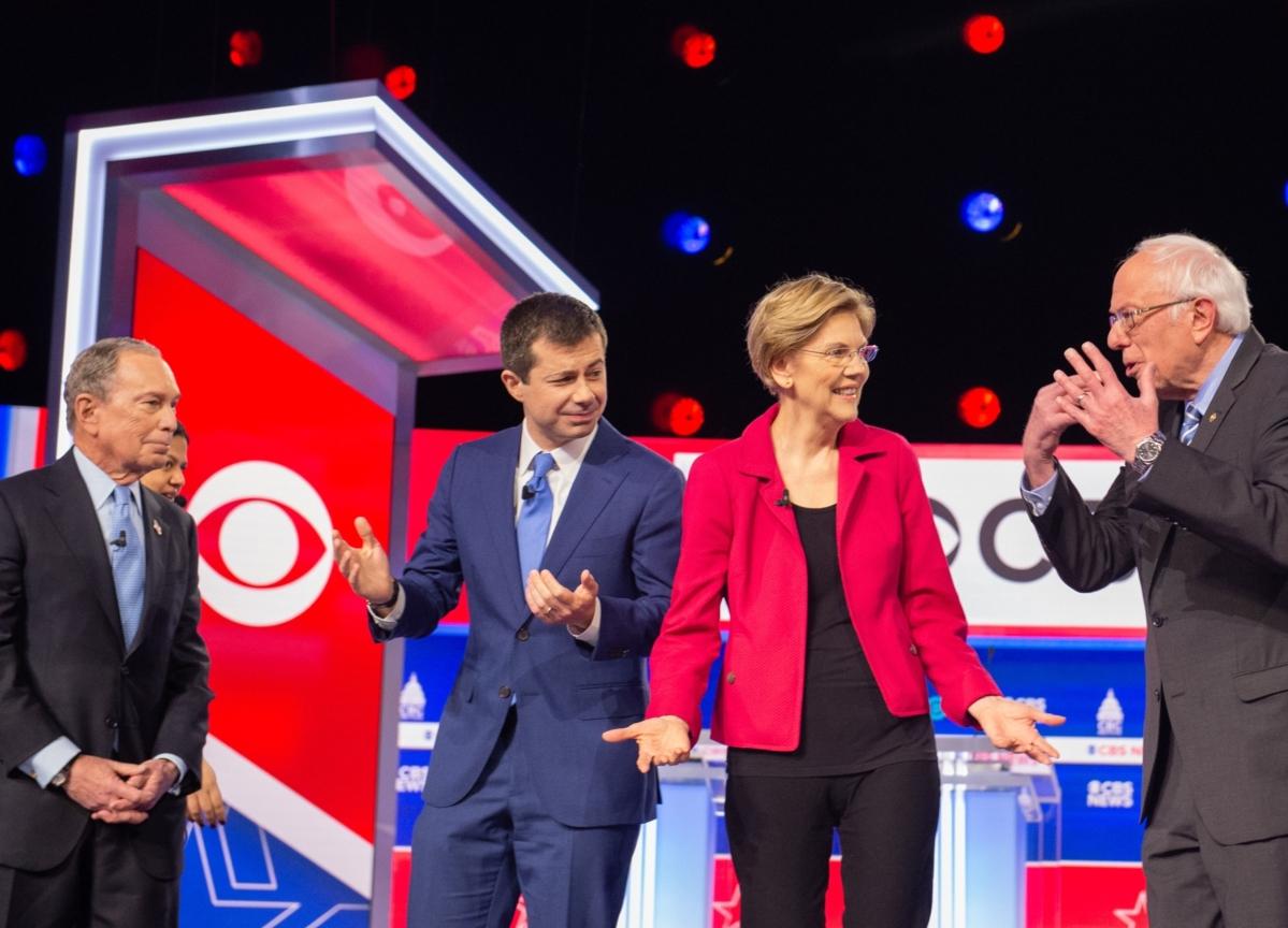 Sanders, Bloomberg Draw Fire in Debate on Who Can Beat Trump