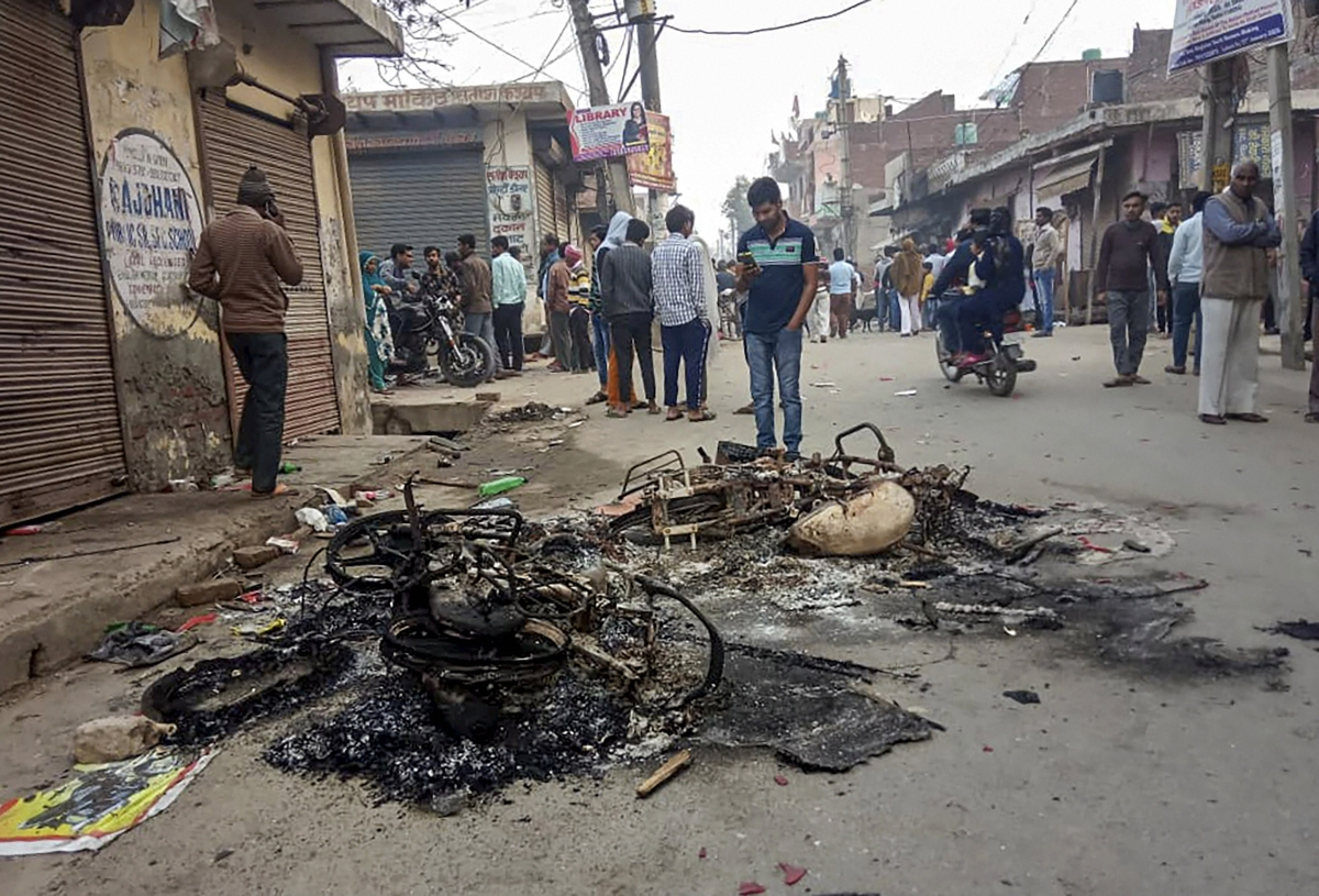Mustafabad area of East Delhi (Source: PTI)